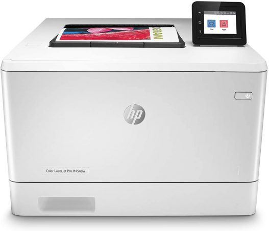 HP Color LaserJet Pro M454dw Wireless Laser Printer