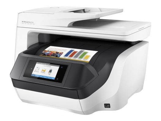 Hp OfficeJet Pro 8720 Wireless Colored All-in-One Printer