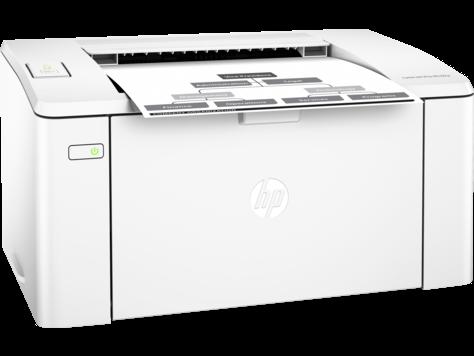 Hp Pro M102a Laserjet Black & White Printer