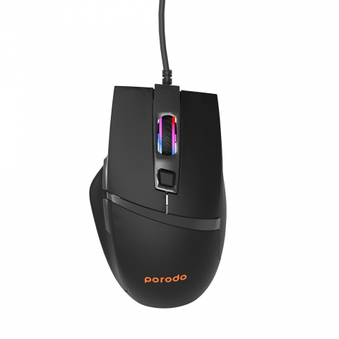 Porodo 6D Wired Gaming Mouse with Mouse Pad