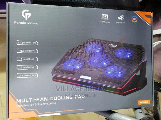 porodo multi fan cooling pad